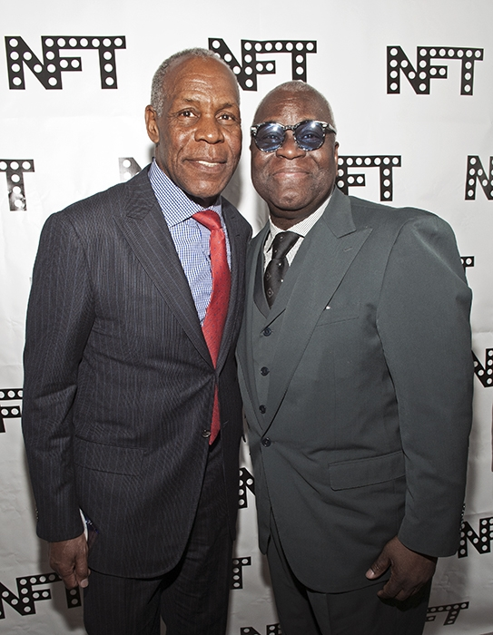Danny Glover and Voza Rivers/Copyright: Mel Wright Photography
