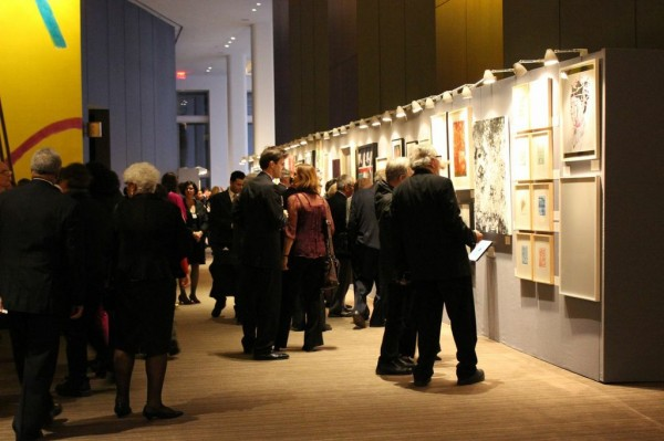 Guests at Bronx Museum of the Arts spring gala/Courtesy of the Bronx Museum of the Arts