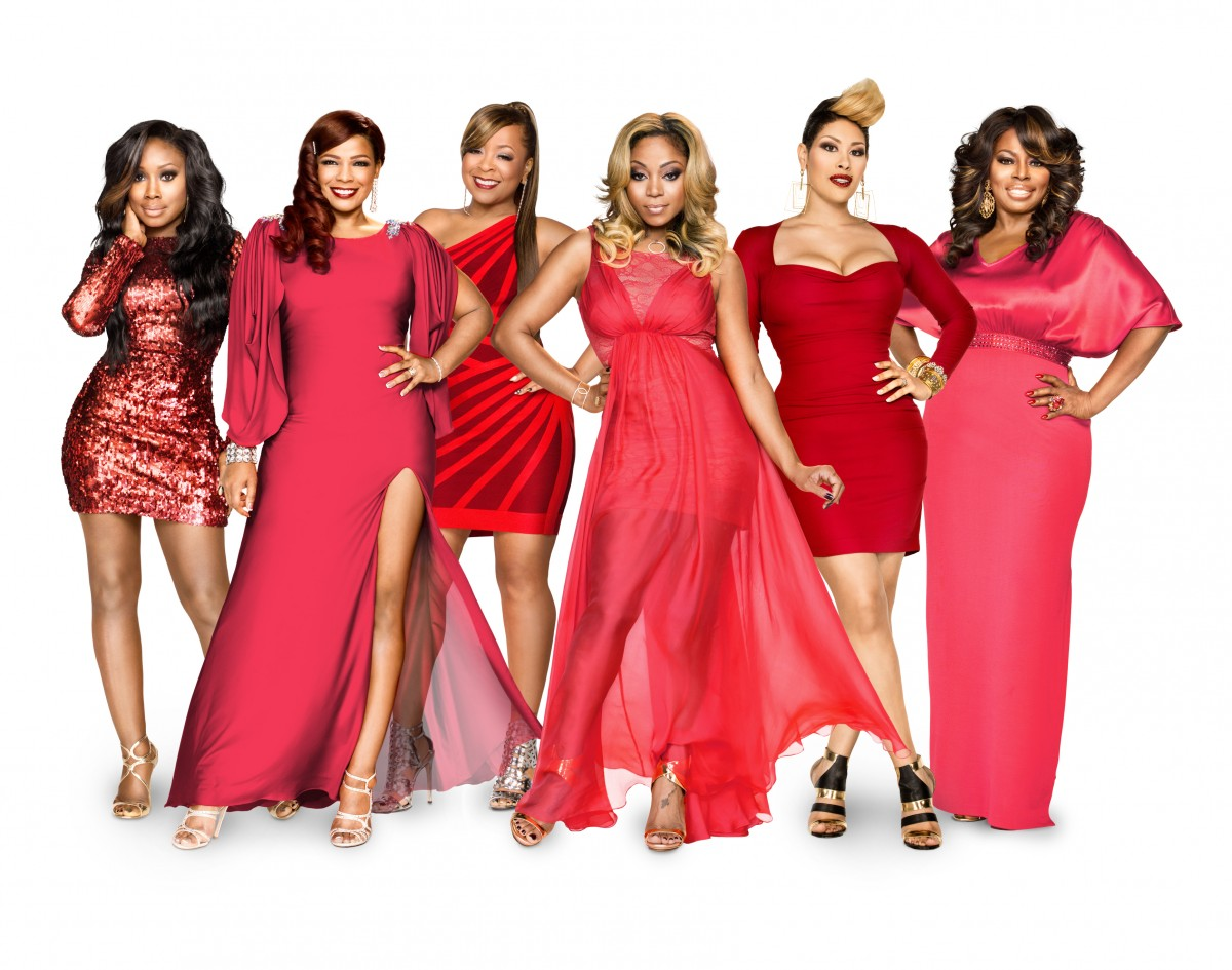 Meelah Williams, Syleena Johnson, Monifah, LaTavia Roberson, KeKe Wyatt, Angie Stone (left to right)/Credit: Alex Martinez