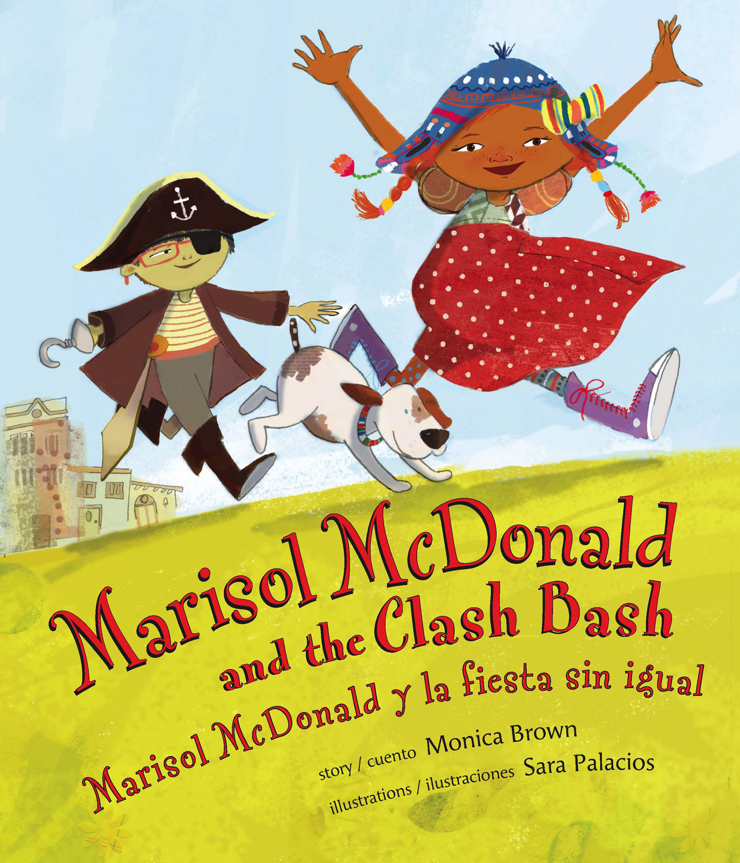 """Marisol McDonald and the Clash Bash"" by Monica Brown and illustrated by Sara Palacios/Courtesy of LEE & LOW BOOKS"