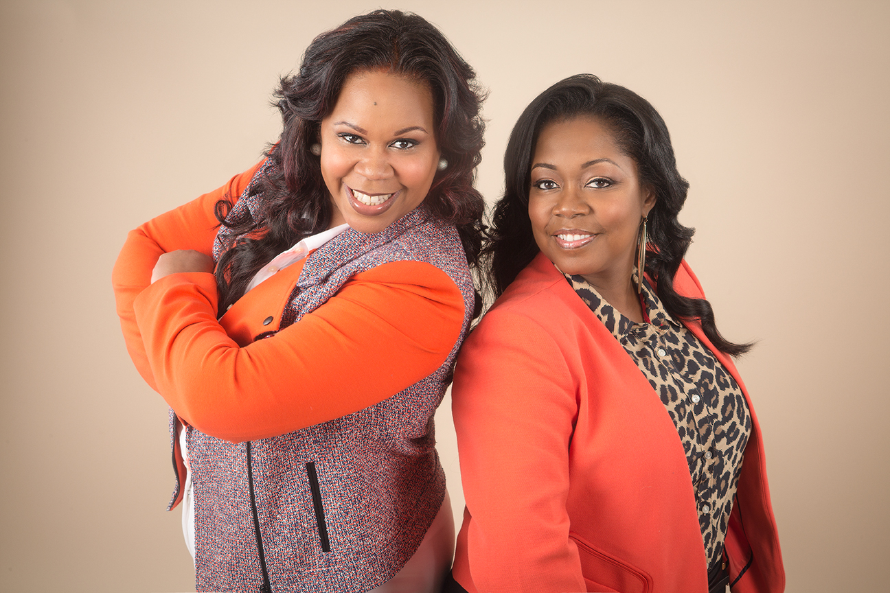 Rochelle Brown and Sonia Armstead/Photo credit: Bobby Quillard