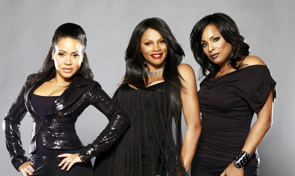 "Cheryl ""Salt"" James, Sandra ""Pepa"" Denton and Deidra ""DJ Spinderella"" Roper (left to right)"