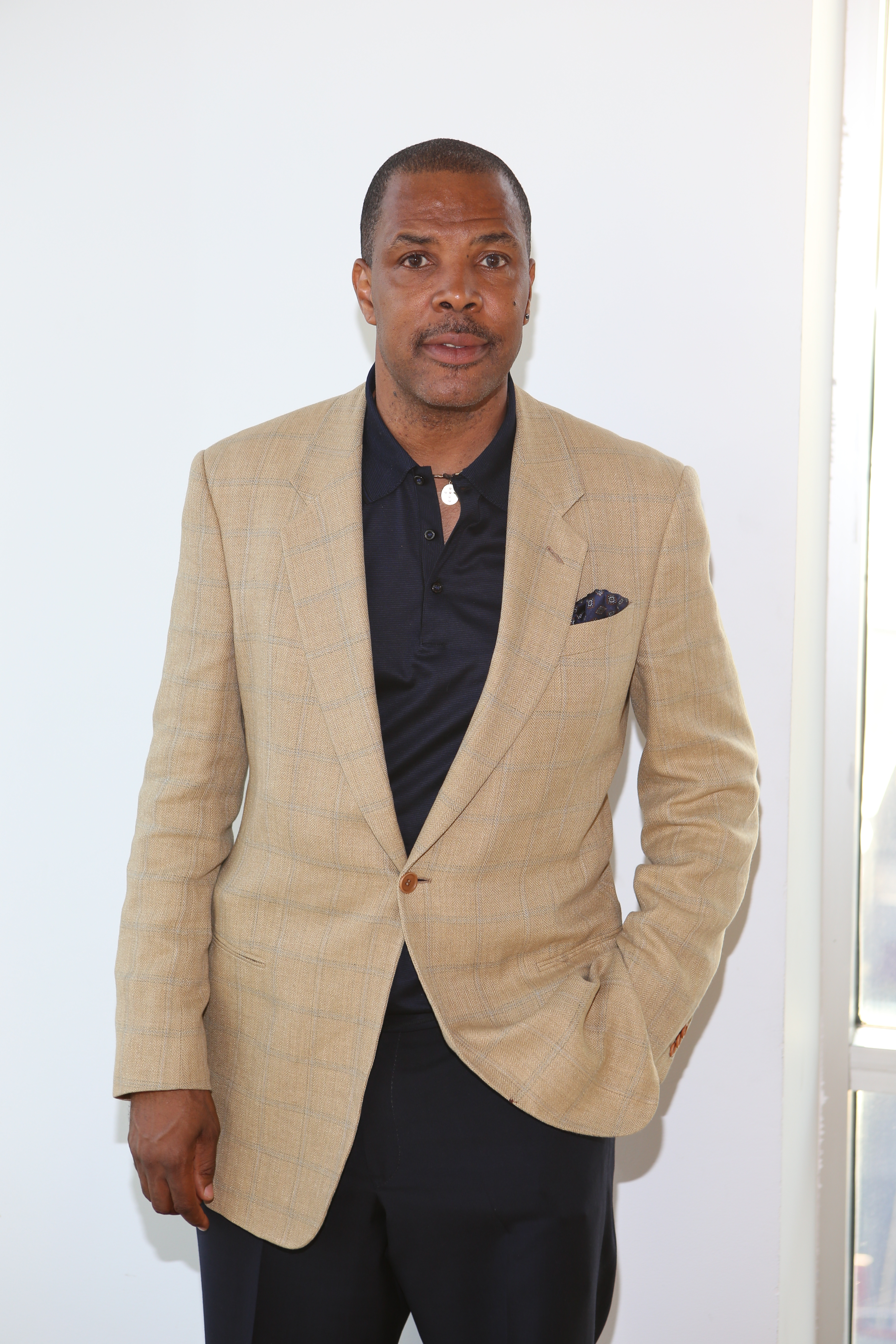 Eriq La Salle at Bronx Charter School for the Arts' annual art auction/Courtesy of PR Noir