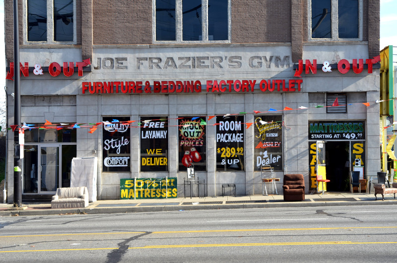 Joe Frazier's Gym/Credit: Ben Leech