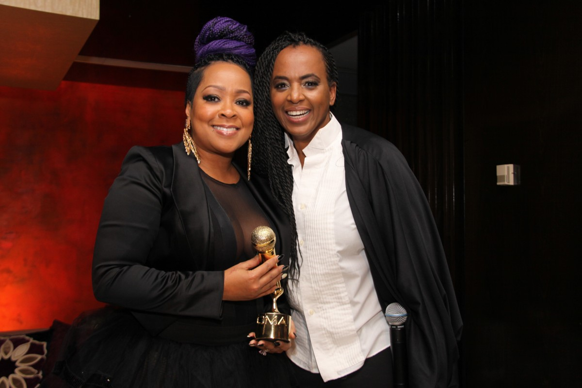 Monifah Carter and Diedra Meredith (left to right) Photo Credit: Rowena Husbands/Blinkofaneyephotography