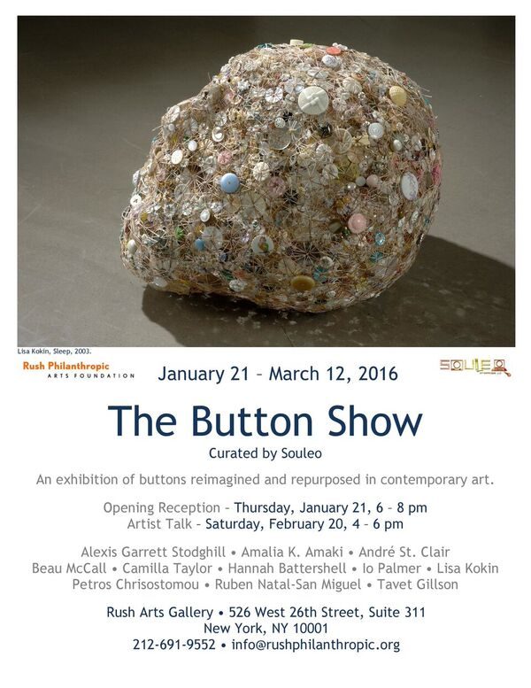 The Button Show Flyer
